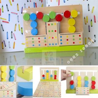 Đồ chơi giáo dục – Bộ phân loại mẫu Montessori TOP764