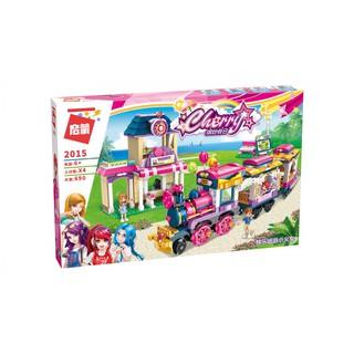 Bộ lắp ráp lego 2015 Đoàn tàu sắc màu