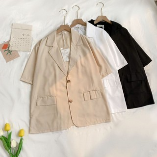 Áo blazer cộc tay 2 khuy Friday thumbnail