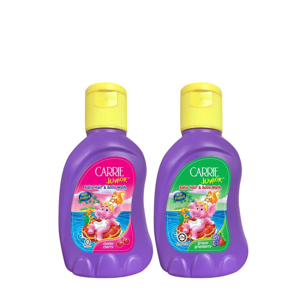 Hình ảnh Dung dịch tắm gội toàn thân cho bé Carrie Junior 32g-0