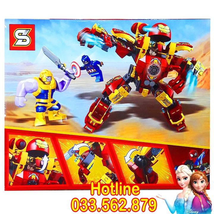 Bộ Lego Xếp Hình Ninjago Siêu Robot Chiến Đấu. Gồm 371 chi tiết. Lego Ninjago Lắp Ráp Đồ Chơi Cho...