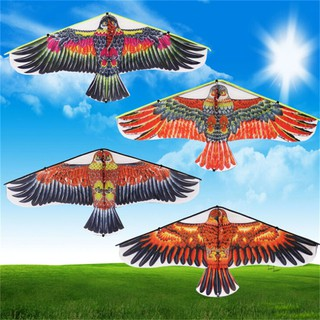 1PC Flat Eagle Bird Kite Children Flying Bird Kites Outdoor Garden Toys