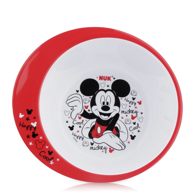Bát ăn bằng nhựa Nuk hình Mickey