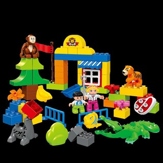 Children's toys 3-6 years old 7 years old boys 4 girls 5 intellectual power 8 animal fight assembling blocks 1
