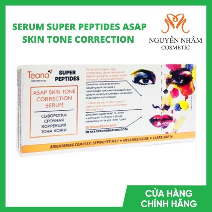 Serum Teana dưỡng trắng, mờ thâm mụn ASAP Super Peptides