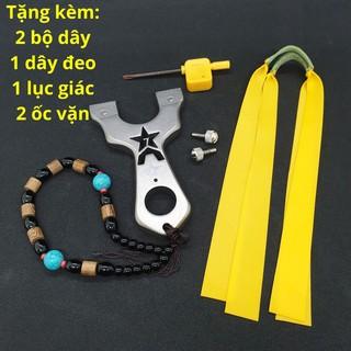 Ná Cao Su A7, Ná Thun Inox 304 Chạc Kẹp + Tặng dây đeo trang trí tiện lợi