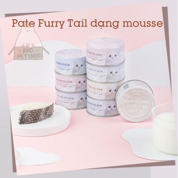 [Mã 267FMCGSALE giảm 8% đơn 500K] Thức ăn mèo Pate Furry Tail dạng mousse