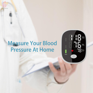 ET Household Mini Size Full Automatic Upper Arm Band Type Digital Electronic Blood-Pressure Meter Lightweight Portable Sphygmomanometer