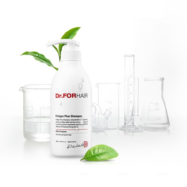 Dầu Gội Ngăn Rụng Tóc Dr For Hair Folligen Plus Shampoo Relieving Hair Loss