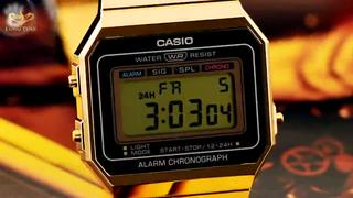 Đồng hồ nam nữ casio A700W-1ADF - A700WG-9ADF - A500WA-1DF - A500WA-7DF Chống Nước 5