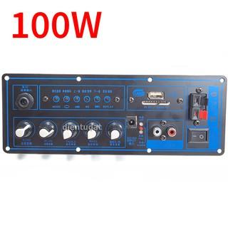 Mạch Khuếch Đại Bluetooth Loa Kéo 6.5~10inch - 100W