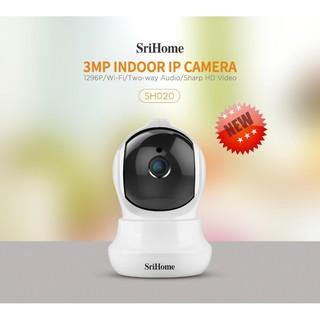 Camera IP WiFi Thế Hệ Mới SriHome - 3.0Mpx Siêu Nét SH020 thumbnail