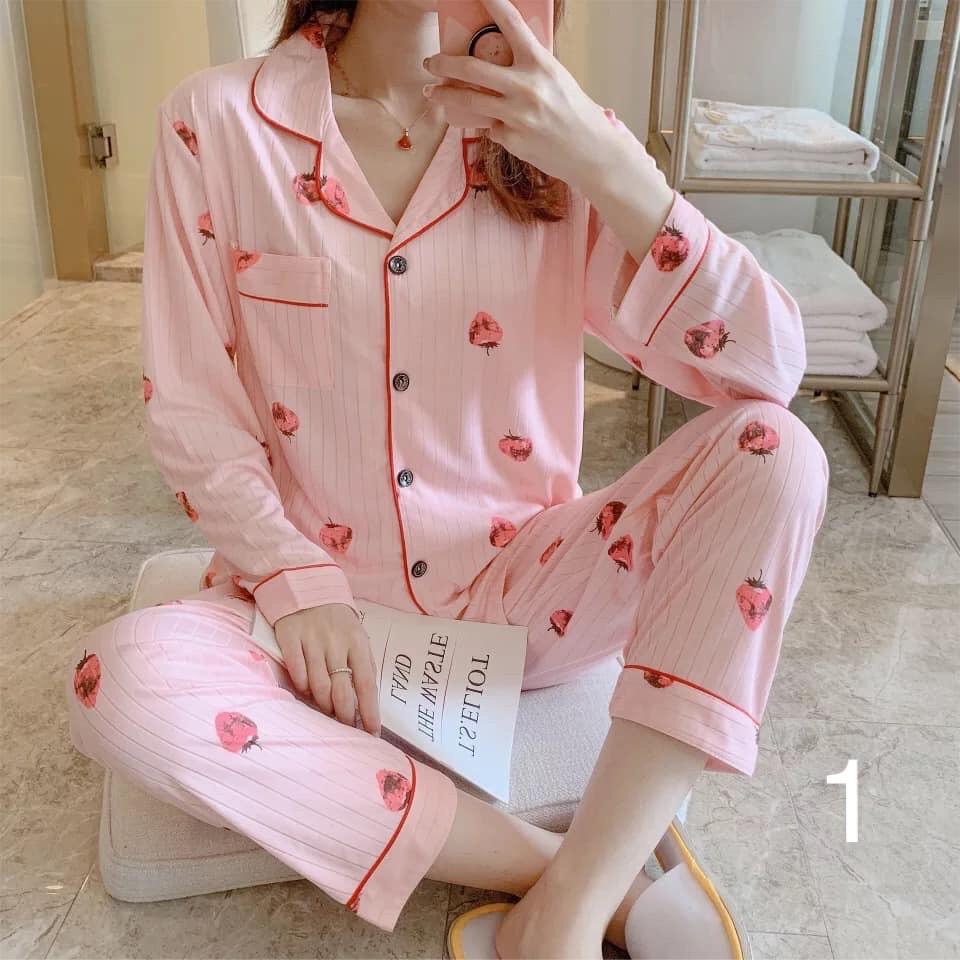 Bộ ngủ pyjama cotton (Part 1)