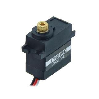 PDI-1151MG DC4.8-6V 15g 3.6Kg Waterproof Metal Digital Steering Gear Servo RC Part