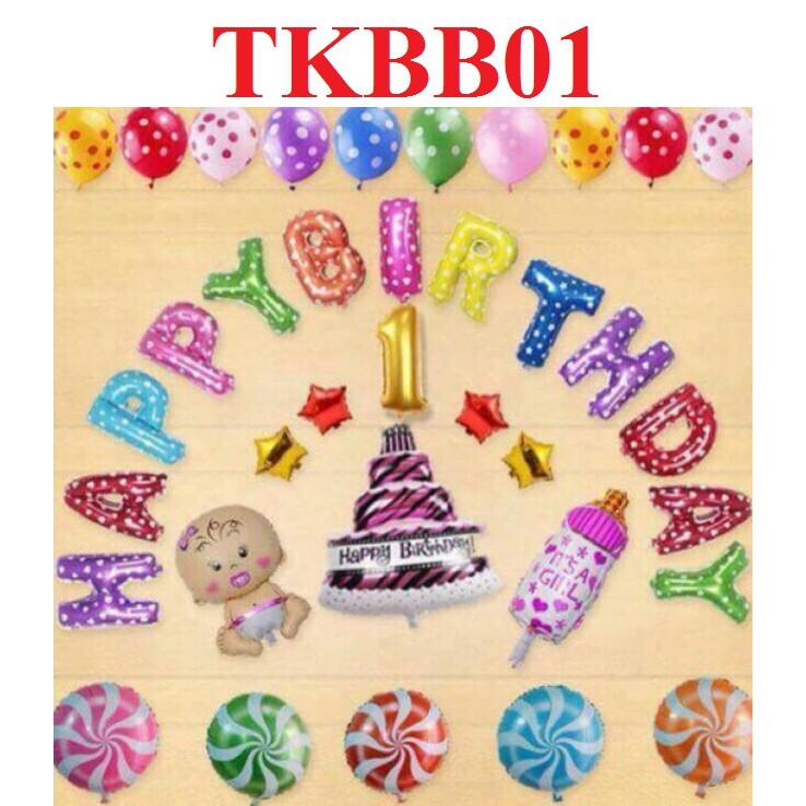( Kèm bơm + băng dính ) Set bóng sinh nhật 1 tuổi - Set trang trí sinh nhật bé 1 tuổi - 2503967 , 1223758577 , 322_1223758577 , 120000 , -Kem-bom-bang-dinh-Set-bong-sinh-nhat-1-tuoi-Set-trang-tri-sinh-nhat-be-1-tuoi-322_1223758577 , shopee.vn , ( Kèm bơm + băng dính ) Set bóng sinh nhật 1 tuổi - Set trang trí sinh nhật bé 1 tuổi