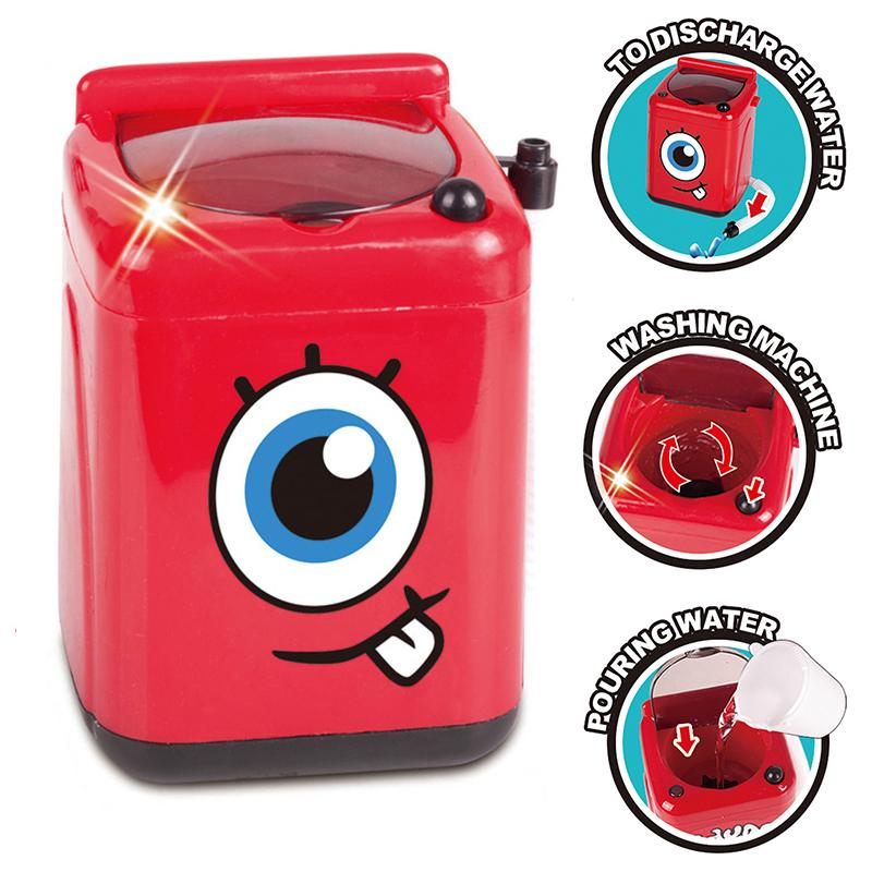 Mini Simulation Kitchen Toy Play House Washing Machine Kids Toy Gift