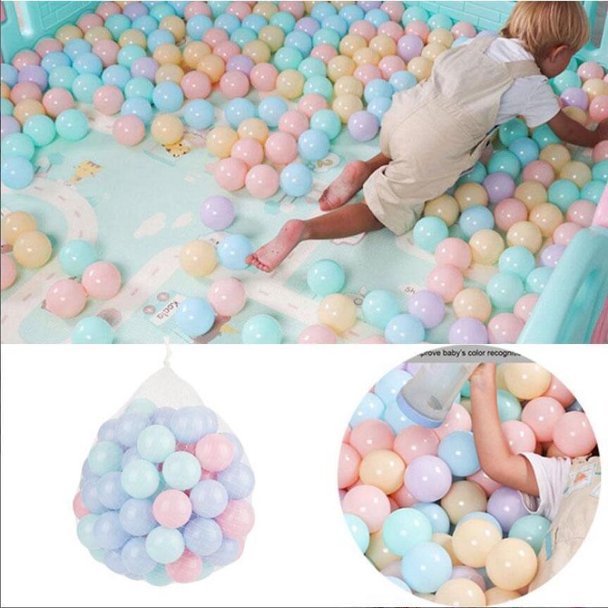100 Pcs/Set Ocean Ball Soft Plastic Baby Kid Swimming Toy