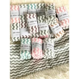 Set 10 khăn mặt lông cừu Hàn quốc siêu xinh ❤️