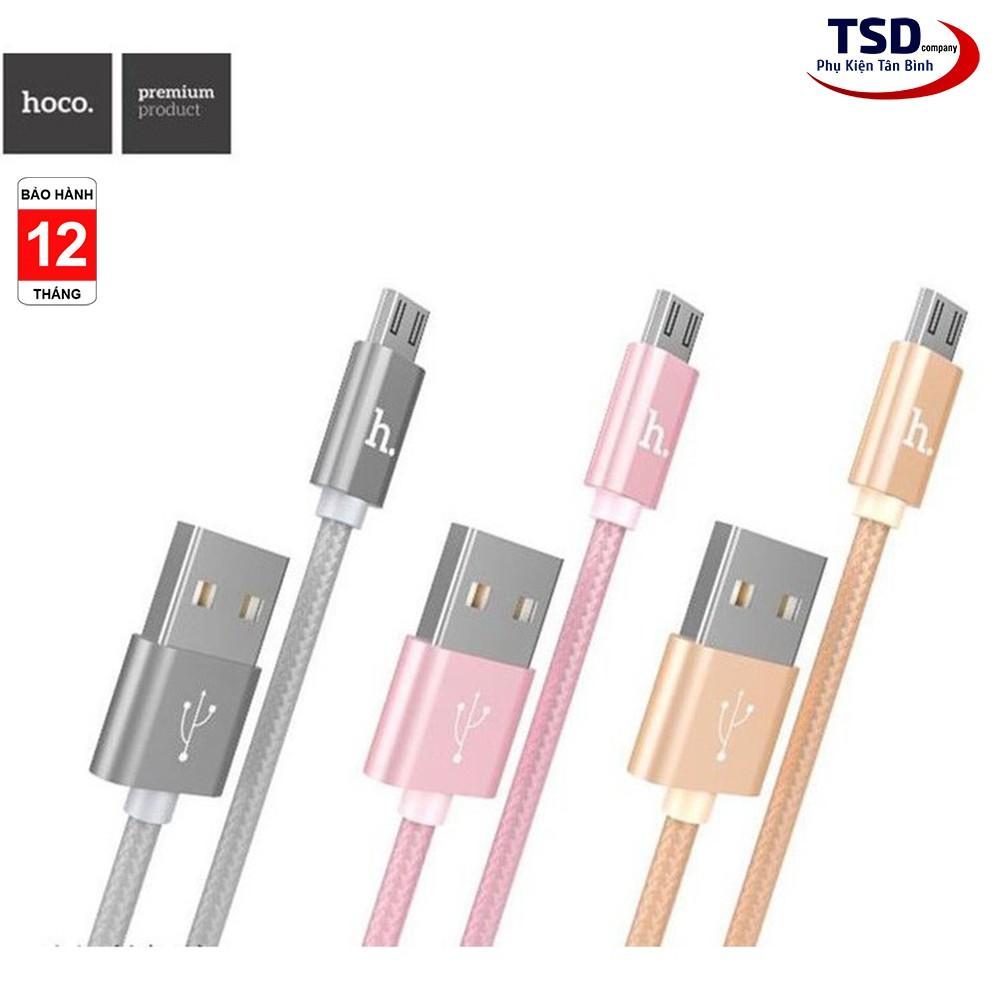 Cáp Micro USB Hoco X2 - Sạc Nhanh SS Sony Android - Cáp Sạc Hoco X2 Chính Hãng