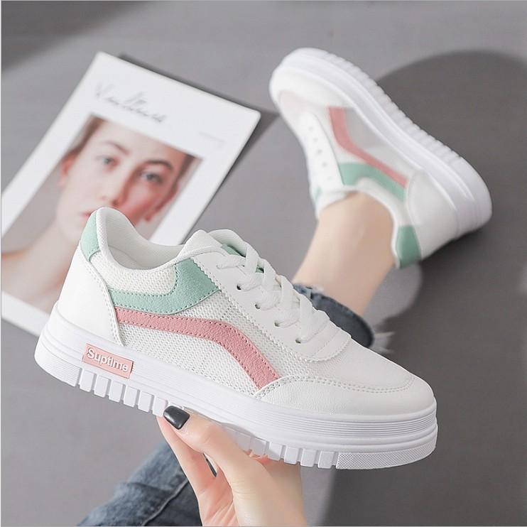 Giày Thể Thao Màu Trắng Năng Động Thời Trang Dành Cho Nữ