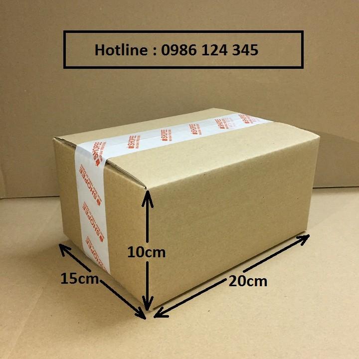 13x7x8 Combo 120 hộp carton đóng hàng