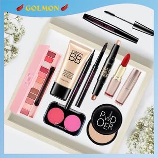 Bộ trang điểm cá nhân Images 9 món đầy đủ từ a đến z bộ makeup cho người mới bắt đầu set trang điểm chuyên nghiệp