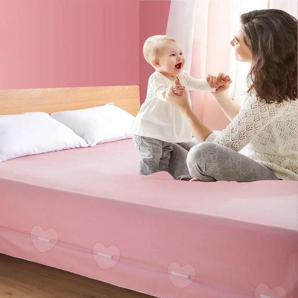 combo 2 Miếng dán nẹp ga giường siêu tiện lợi