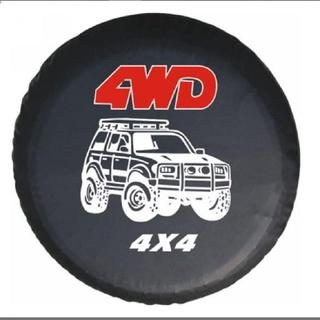 COTINI Universal 4WD 4X4 Nero in pelle PVC Borsa per Pneumatici