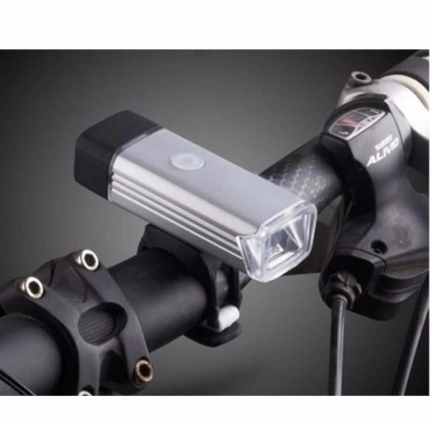 Đèn Pin LED trên xe đạp kèm đế kẹp hiện đại TL 518