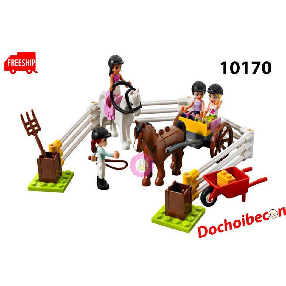 Lego Friends (Bela) 10170 - Trang trại mùa hè - 1118 chi tiết