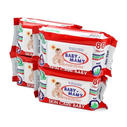Combo 10 gói khăn giấy gướt Baby mamy 80 tờ/ gói - 2406627 , 1296928880 , 322_1296928880 , 120000 , Combo-10-goi-khan-giay-guot-Baby-mamy-80-to-goi-322_1296928880 , shopee.vn , Combo 10 gói khăn giấy gướt Baby mamy 80 tờ/ gói