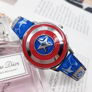 Đồng hồ cho bé trai nhân vật anh hùng Marvel thumbnail
