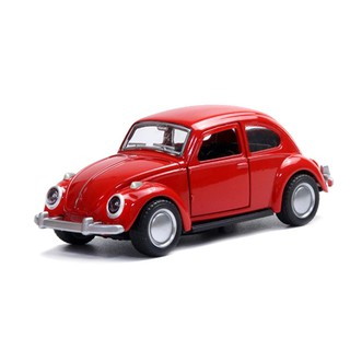 Simulation Alloy Metal Pull Back Car Toys Door Can Open 1:36 Beetle Mini Vehicles Toys Gift