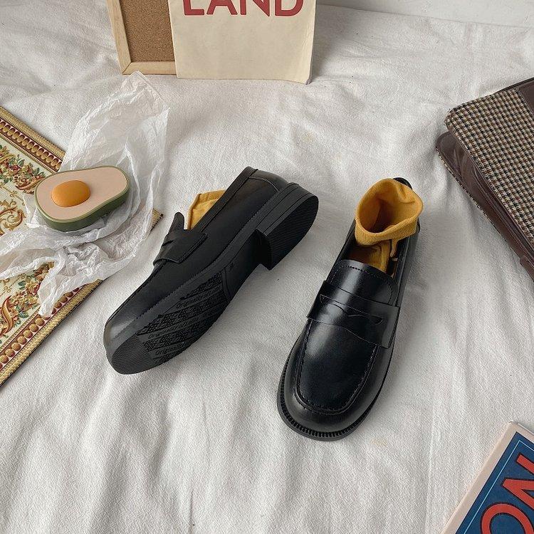 Giày Búp Bê Màu Trơn Thời Trang Cho Nữ