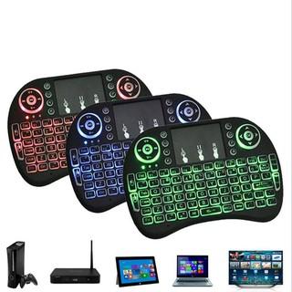 Phụ kiện máy tính FREESHIP Bàn phím mini i8 kết nối bằng bluetooth, phím dễ bấm, độ nhạy cao, tích hợp bàn chuột 7612