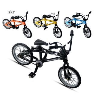 1/18 Diecast Mini Finger Mountain Bike Bicycle Crafts Desktop Decor Kids Toy