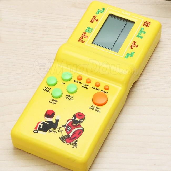 Máy chơi game xếp gạch cầm tay tuổi thơ