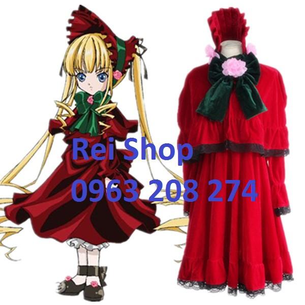 Shinku Cosplay - Hóa trang Rozen Maiden - 10027368 , 298300497 , 322_298300497 , 590000 , Shinku-Cosplay-Hoa-trang-Rozen-Maiden-322_298300497 , shopee.vn , Shinku Cosplay - Hóa trang Rozen Maiden