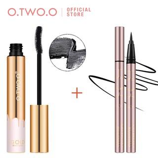 Bộ bút kẻ mắt + mascara O.TWO.O trang điểm lâu trôi chống thấm nước và nhanh khô 95g thumbnail