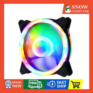 Quạt Tản Nhiệt, Quạt Led, Quạt Fan Case 12cm led, fan LED RGB giống Coolmoon