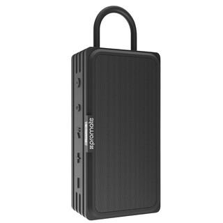 Loa Bluetooth Promate RUSTIC-3 BLACK Công Suất 10W Chống Thấm IPX6 - Hàng Chính Hãng thumbnail