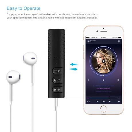 Thiết Bị Chuyển Đổi Âm Thanh Có Dây Thành Không Dây Bluetooth 4.2 Hàng Loại 1 Siêu Tiện Lợi