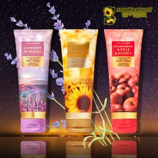 Kem Dưỡng Thể Mịn Da Bath & Body Works Body Cream - Golden Sunflower Lavender In Bloom Champagne Apple & Honey thumbnail