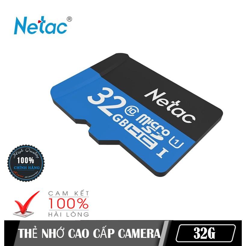 {Chính hãng} Thẻ nhớ chính hãng Netac 32G class 10 NK - BH 05 năm