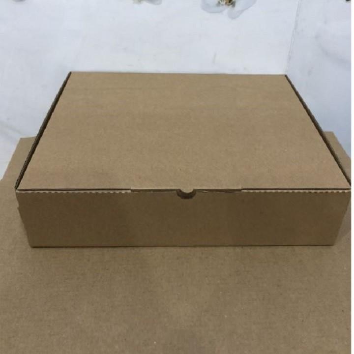 Freeship - Combo 5 Hộp carton đựng bánh Pizza - 16x16x4cm