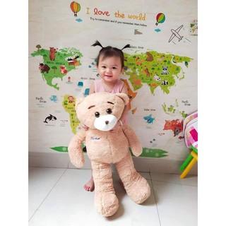 SIÊU RẺ- gấu bông cao 1m