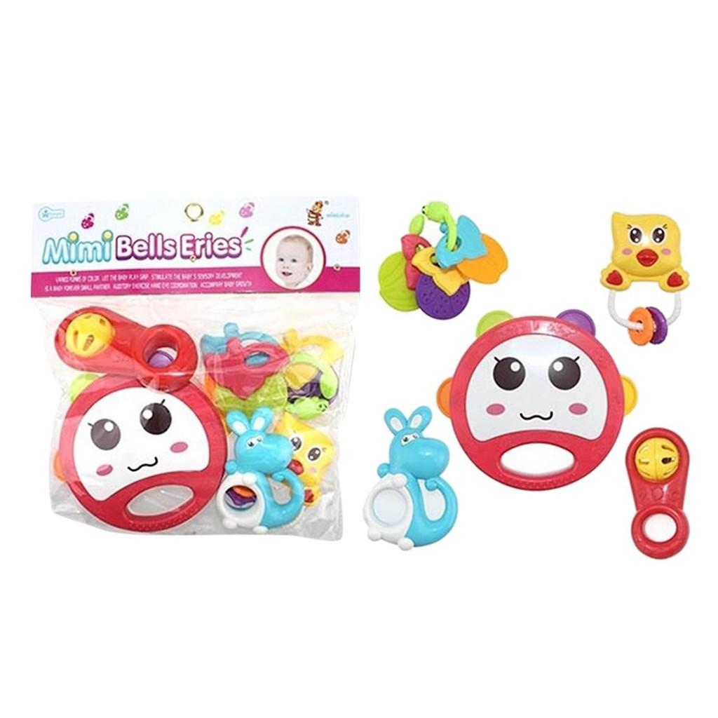 Túi đồ chơi xúc xắc 5 món Toys House