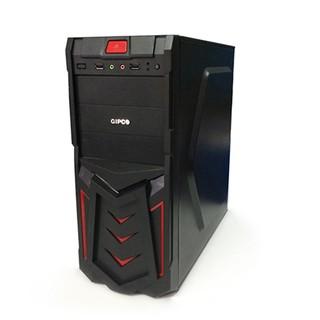 [ Giá gốc ] Vỏ case máy tính GIPCO GIP3986GAB Vật liệu làm từ thép không gỉ Chống giật BH 12 T Chính hãng