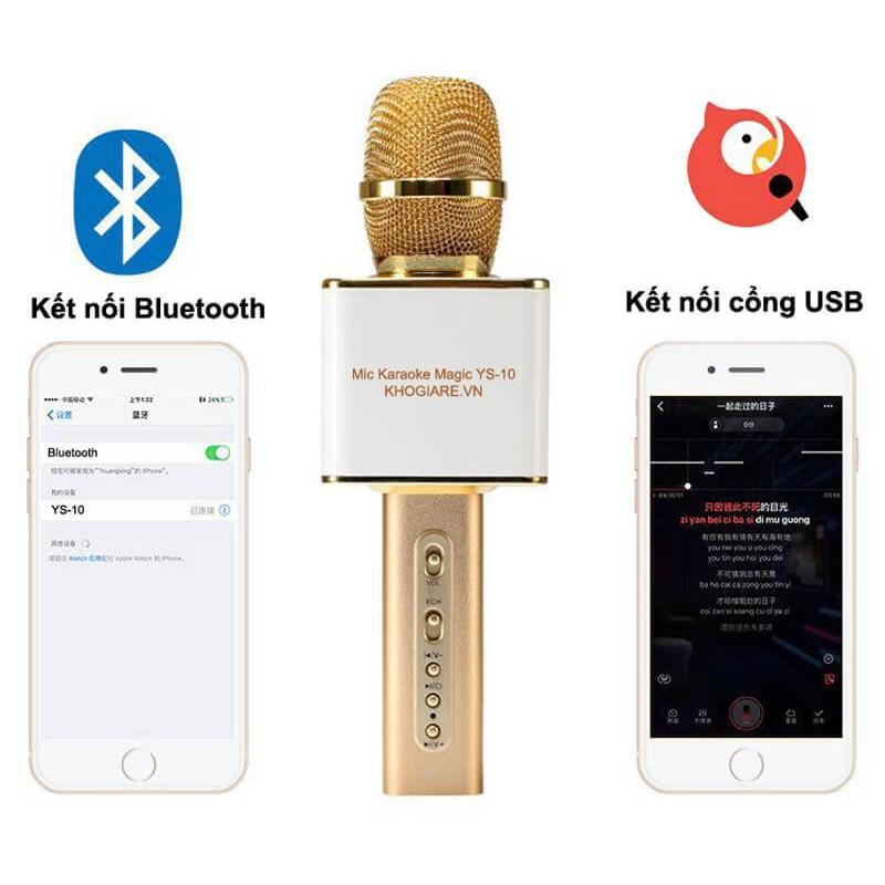Loa Bluetooth Micro Karaoke YS-10 cao cấp