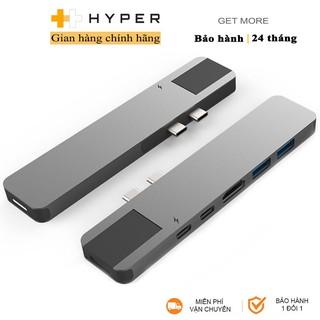 [Mã ELMALL300 giảm 7% đơn 500K] Cổng chuyển HyperDrive Net 6-in-2 USB-C Hub - GN28N - Hàng Chính Hãng